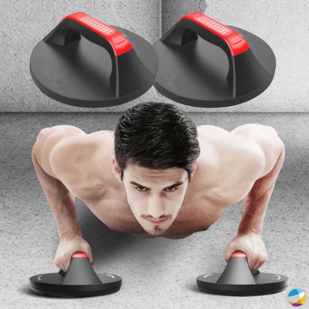 푸시업바 팔굽혀펴기 전신 가슴 팔운동 원형 푸쉬업바 상체운동 코어운동 등운동 기립근운동 전신운동