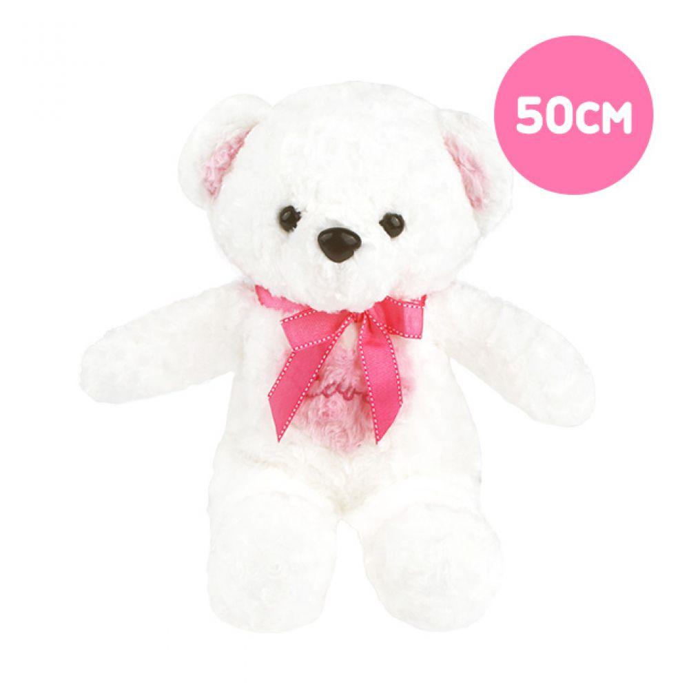 뉴하트베어 ver.2(50cm) 곰인형 봉제인형 대형곰인형 대형인형 캐릭터인형 곰돌이인형 동물인형 안고자는인형 곰인형선물 큰인형