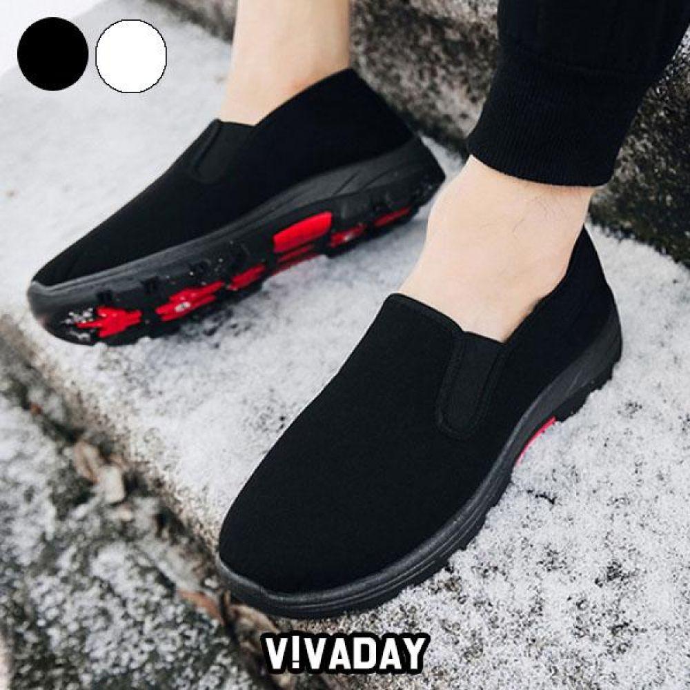 VIDS-SS223 방한슬립온 스니커즈 로퍼 플랫 단화 운동화 데일리운동화 패션운동화 모카신 방한화 겨울신발
