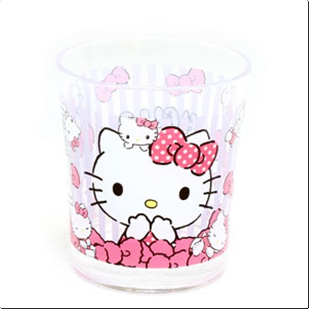 헬로키티 STUFFED PANIC 아크릴 컵 (일) (273940) 캐릭터 캐릭터상품 생활잡화 잡화 유아용품