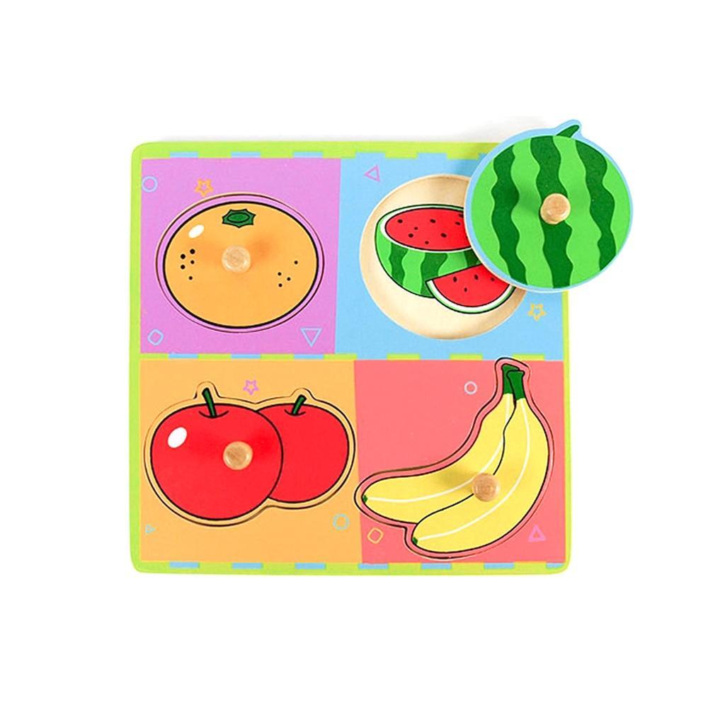 선물 유아 어린이 놀이 궁금해 퍼즐 과일 아이 장난감 퍼즐 블록 블럭 장난감 유아블럭