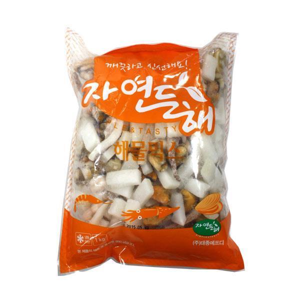 (냉동)태종 해물믹스1kg 해물믹스 해물찜 해물탕 식자재 식재료