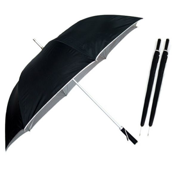 70장우산-포리실버 1단우산 장우산 패션우산 자동우산 판촉우산