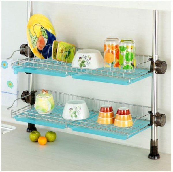 루비코아 씽크선반 600(골드) 설거지건조대 설거지선반 식기건조대 그릇정리대 싱크대선반