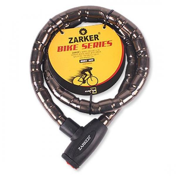 자커 자전거열쇠(MK)2.2x120cm 와이어락 오토바이 자물쇠 자물쇄 도난방지