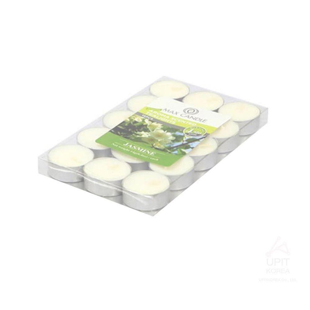 아로마 향 티라이트캔들 15PCS(4.5시간) 자스민 생활용품 가정잡화 집안용품 생활잡화 기타잡화