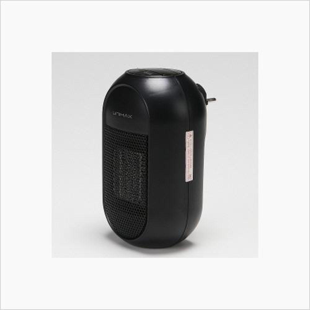 유니맥스 PTC 플러그 인 온풍기 블랙 전기히터 히터 열풍기 전기스토브 열풍기 방한용품 전기히터 온풍기 전기난로