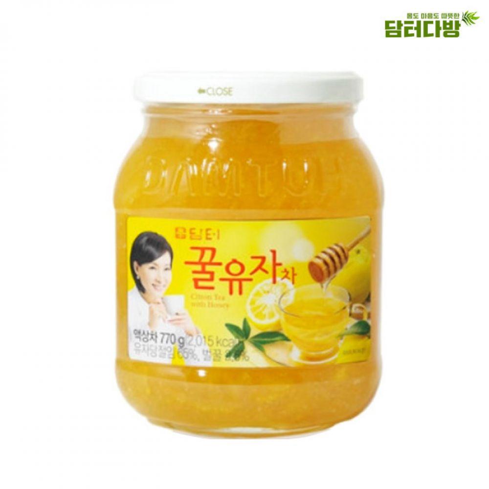 담터 꿀유자차 770g / 액상차 담터 꿀유자차 액상차 유자청 맛있는차 누구나좋아하는 건강한차 아이들이좋아하는 몸이따뜻해지는 먹기편한