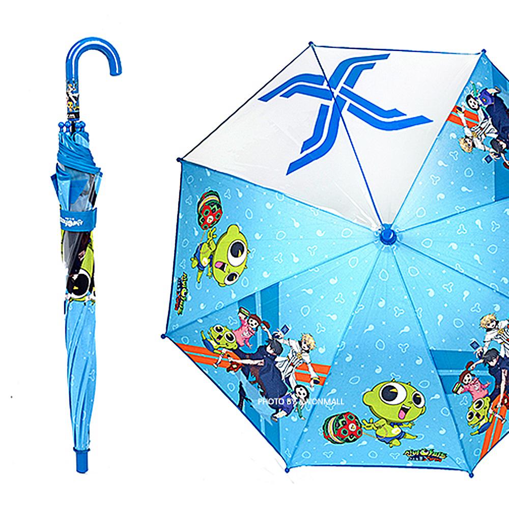 신비 엑스 우산 53-블루 우산 유아우산 아기우산 아동우산 어린이우산 초등학생우산 캐릭터우산 캐릭터장우산 자동우산 3단자동우산