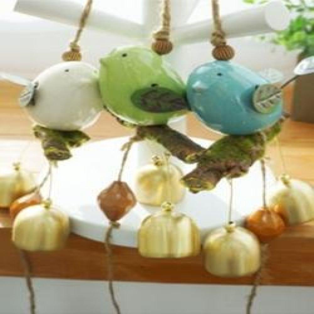 버드 도어벨 (3 color) 현관종 문종 벽걸이소품 현관장식 인테리어소품