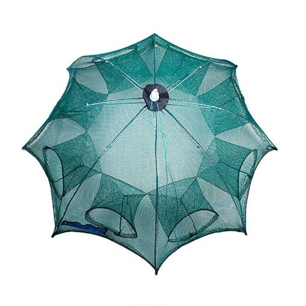 원터치 8구통발 우산형 원터치 통발 낚시 물고기망 낚시용품 낚시어망 그물망 사각통발 물고기망