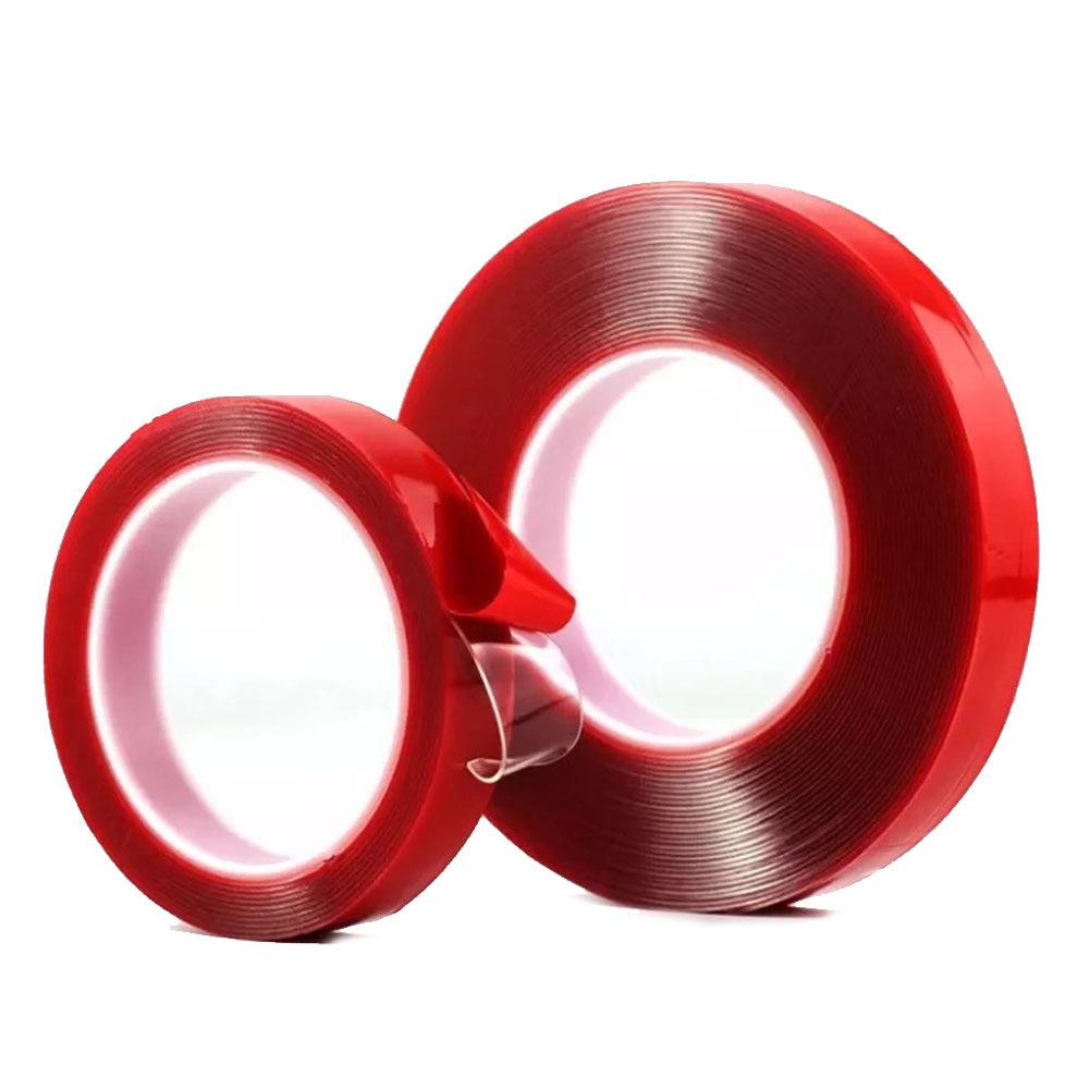 테잎 6종 세트 실리콘 투명 양면 테이프 다용도 강력 테이프 테잎 실리콘양면테이프 양면테이프 투명양면테이프