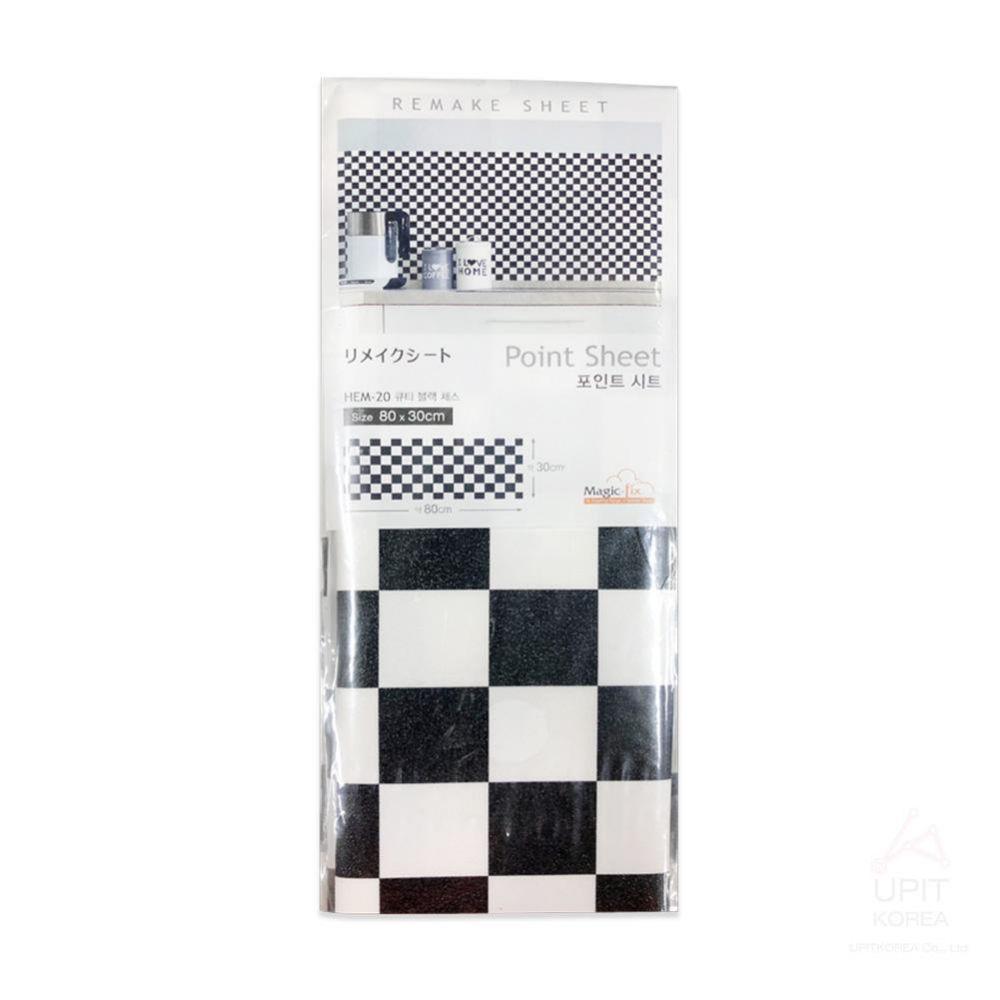 포인트시트 (큐티블랙체스) 80x30 (10개묶음)_1313 생활용품 가정잡화 집안용품 생활잡화 잡화