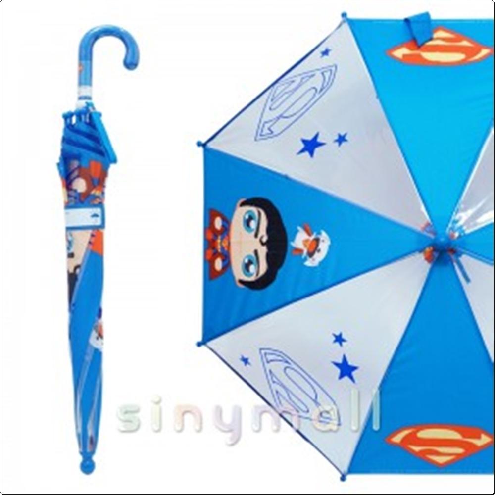 슈퍼맨 미니 40cm 아동우산 (블루)(002818) 캐릭터 캐릭터상품 생활잡화 잡화 유아용품