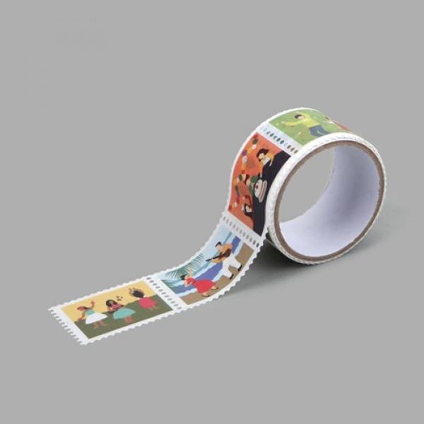 몽동닷컴 Masking tape stamp - 10 Party 테이프 마스킹테이프 종이테이프 종이마스킹테이프 데코 데코레이션 리폼 데코스티커 스티커 꾸미기 포인트 데일리라이크 디자인문구