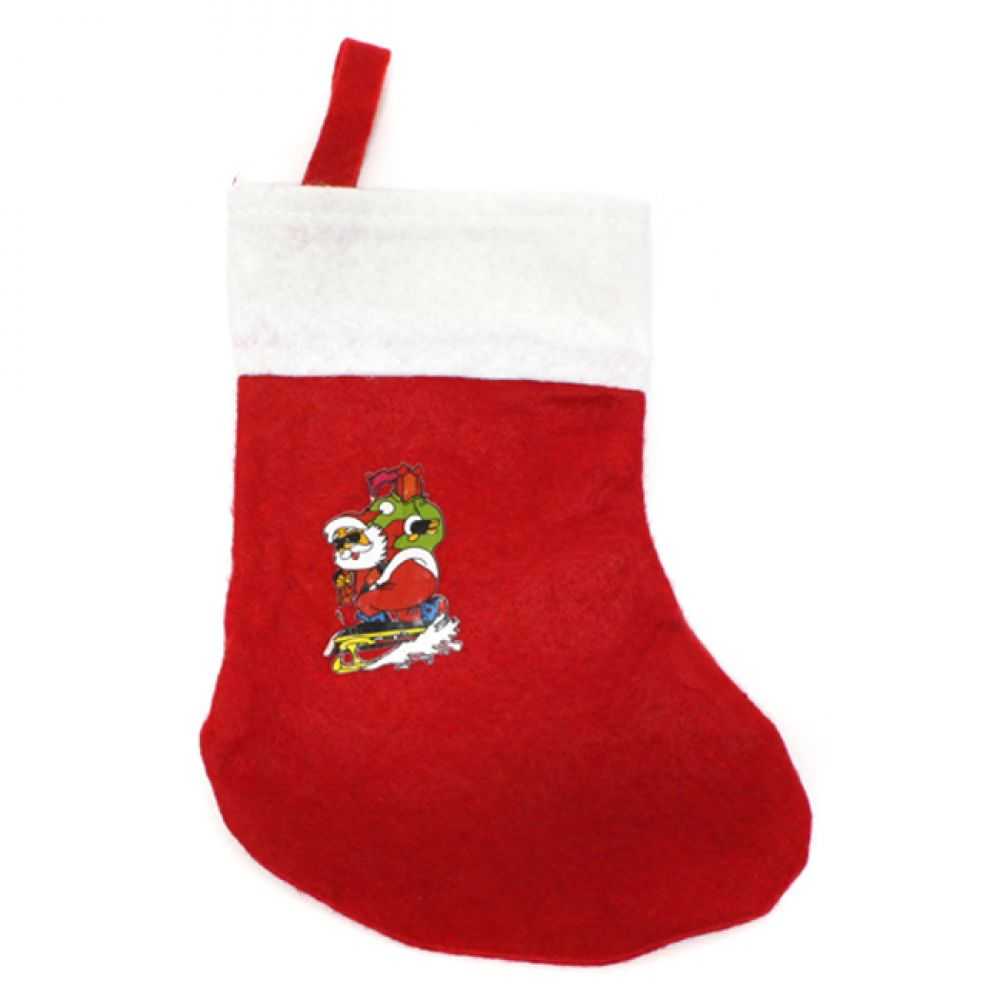MWSHOP 소형 산타 일반 양말 23cmx17.5cm 크리스마스선물 엠더블유샵