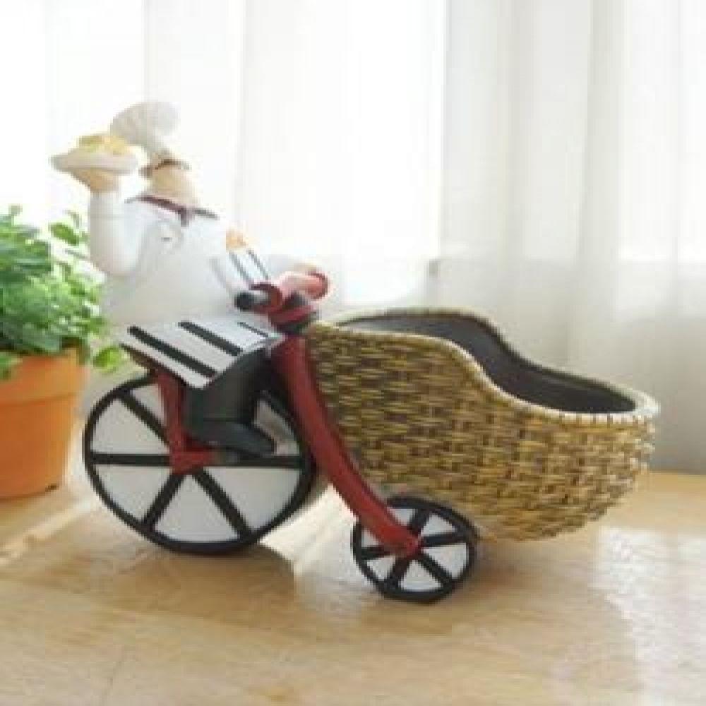 피렌체 자전거 와인병 꽂이 주방용품 주방소품 인테리어소품 와인거치대 장식소품