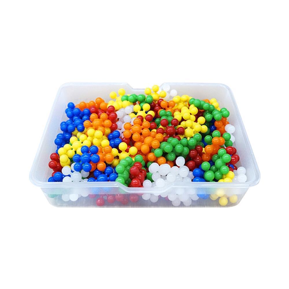 바구니 유아 만들기 장난감 블록 미니 눈송이 블럭 퍼즐 블록 블럭 장난감 유아블럭