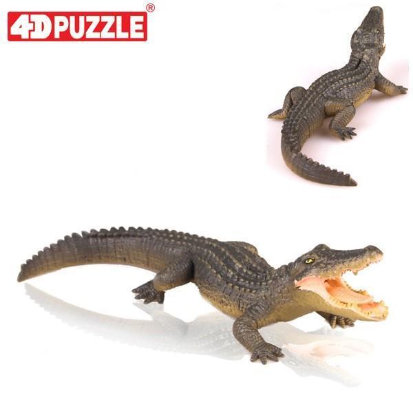 4D퍼즐 악어 (26492) 동물 입체퍼즐 퍼즐 입체퍼즐 동물퍼즐 4D퍼즐 피규어퍼즐