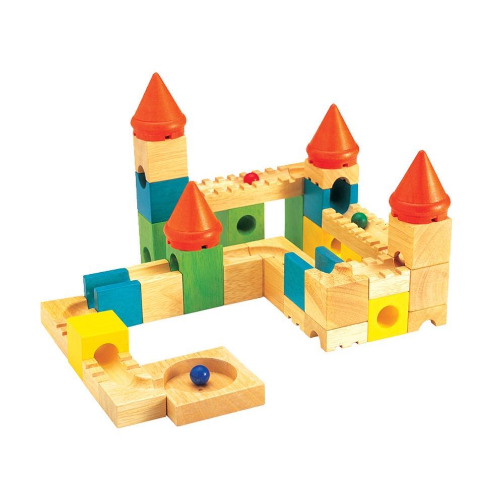 선물 5살 6살 장난감 구슬성 블록 어린이 조카 퍼즐 블록 블럭 장난감 유아블럭
