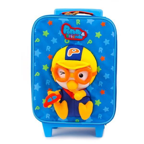 뽀로로 스타카입체캐리어 PR0194 캐릭터 캐리어 뽀로로 어린이캐리어 여행가방