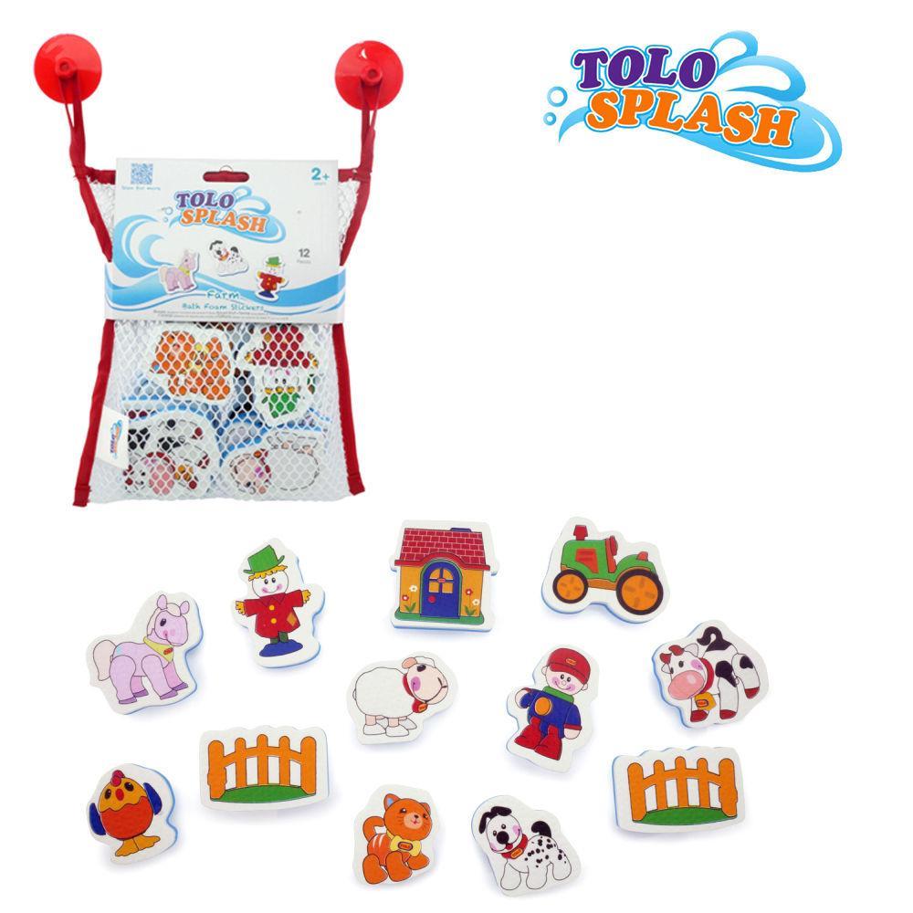 톨로(스플래시) 동물농장퍼즐 (50202) 목욕완구 장난감 목욕놀이 유아완구 아기완구