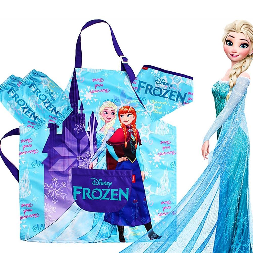(디즈니 프린세스) 겨울왕국 방수 앞치마세트 잡화 생활잡화 캐릭터 캐릭터상품 생활용품