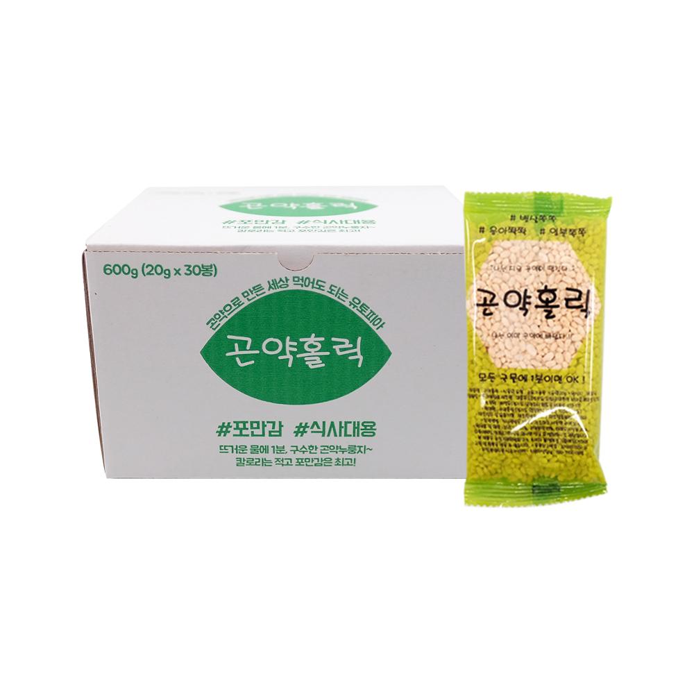 DF 곤약홀릭(20g x30포) 휴대용곤약볶음 누룽지씨리얼 건강식품 곤약 곤약쌀 볶은곤약 누릉지