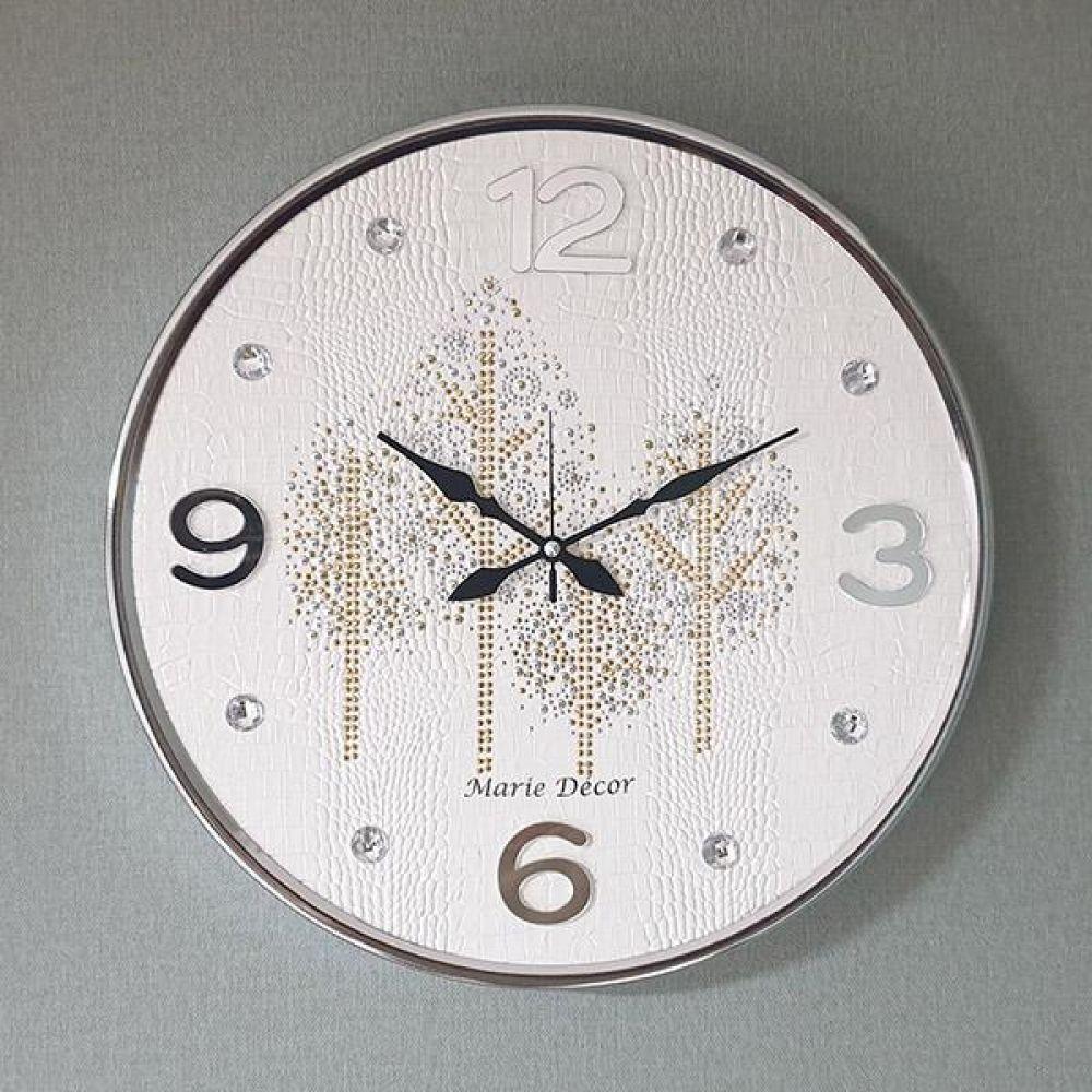 골드우드 무소음 벽시계(대) 아이보리 벽시계 벽걸이시계 인테리어벽시계 예쁜벽시계 인테리어소품