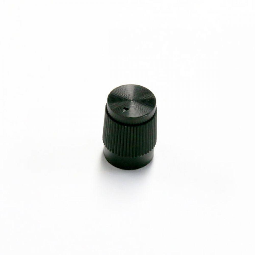 볼륨노브 ABS 플라스틱 소형 볼륨 노브 / PA-1114B 5개묶음 2팩 음향기기 오디오 스피커 엑세사리 볼륨손잡이 knob 노브 오디오앰프노브 가변저항 볼륨노브 CNC가공 눈금표기
