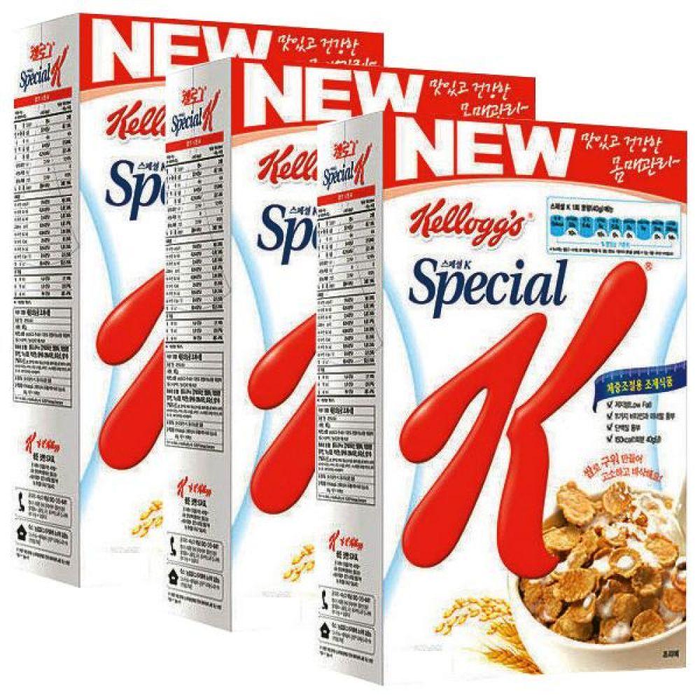 농심)켈로그 스페셜K 270g x 6개 건강 생활 맛과 영양 시리얼 아몬드 포함 대용식 시리얼 잡곡 건강 아침 즉석 몸매