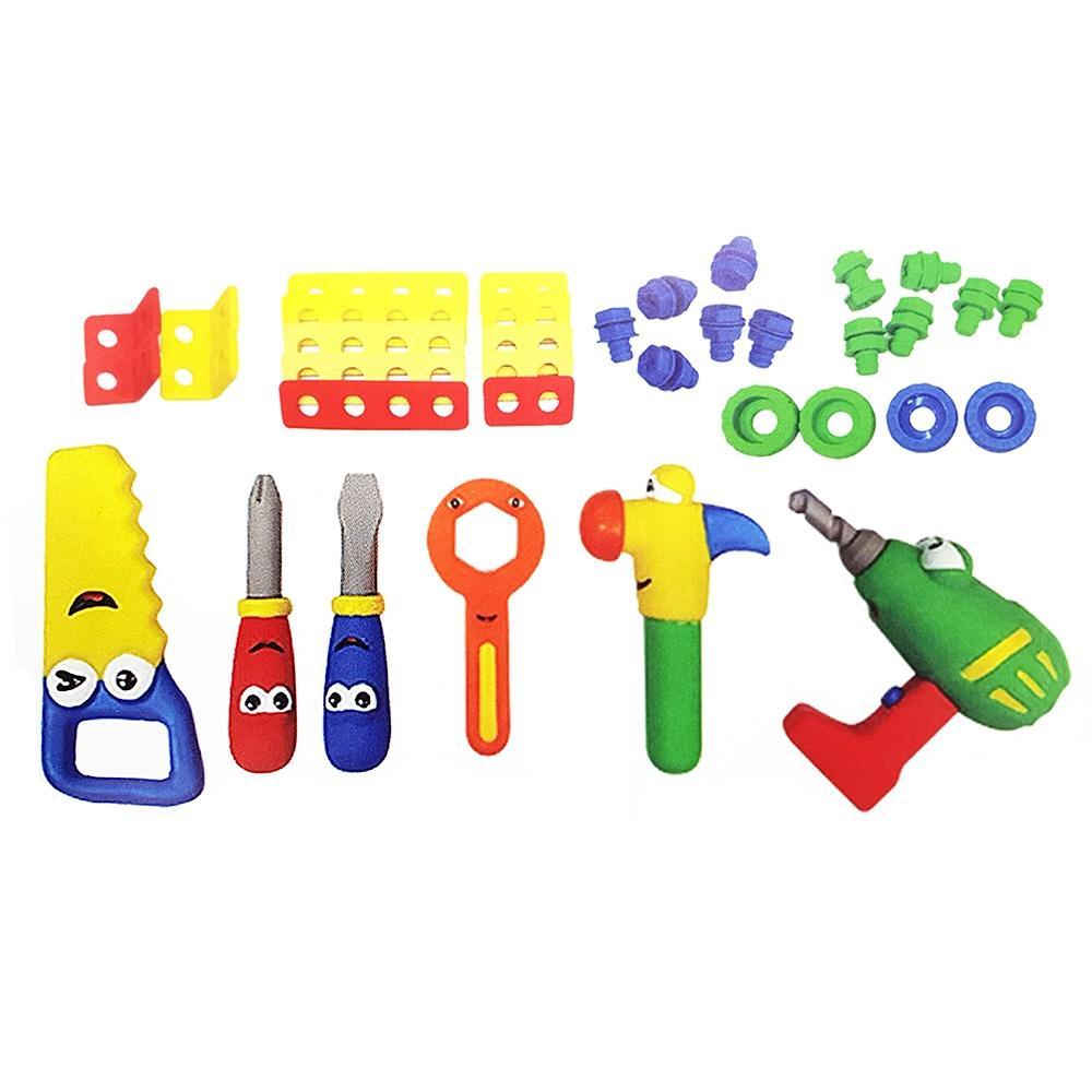 선물 소프트 공구 놀이 48종세트 조카 유아 어린이날 완구 어린이집 유아원 초등학교 장난감