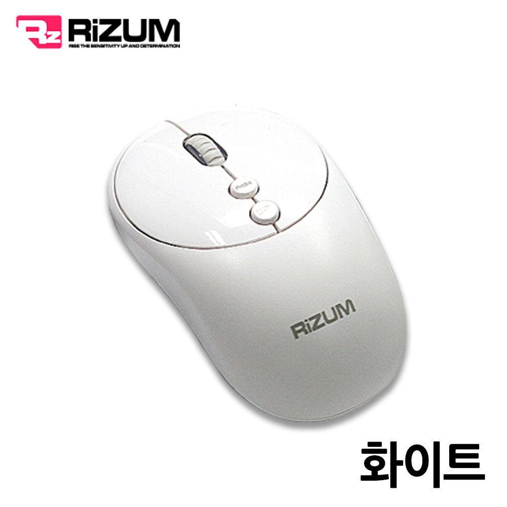리줌 무선 무소음 블루투스 마우스 (M102) (화이트) 블루투스 마우스 무선 노트북 컴퓨터