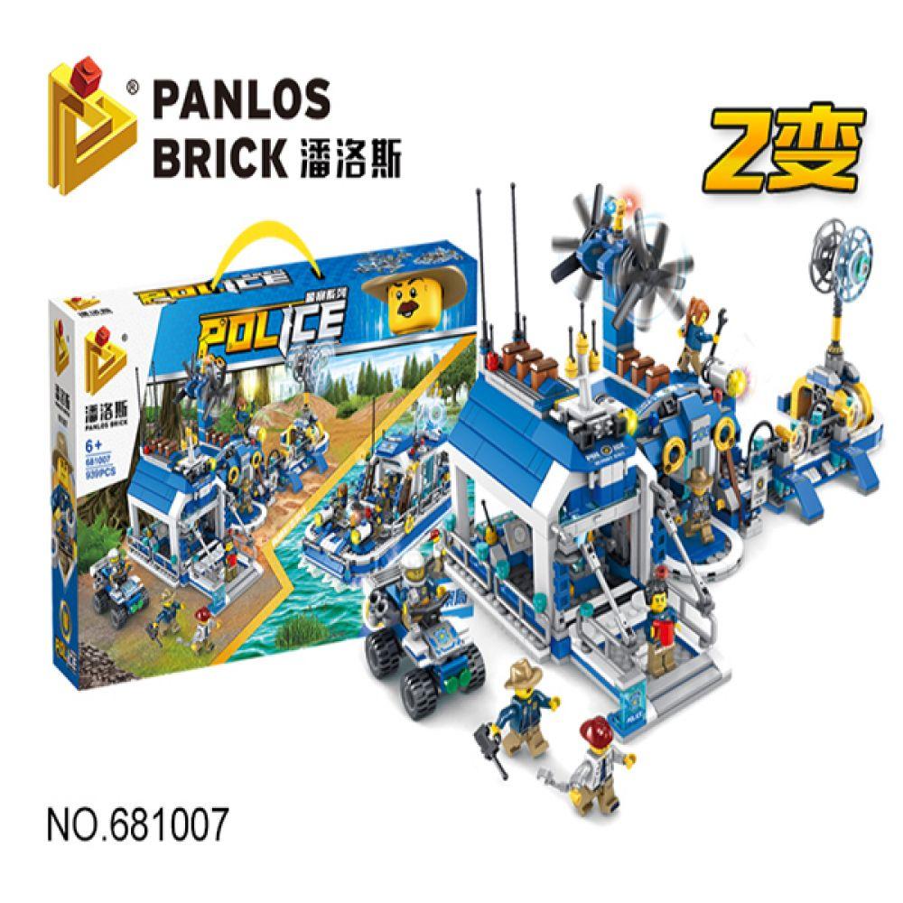 폴리스 해양기지 정찰대 레고호환 블럭 681007 레고 레고블럭 레고조립 블럭놀이 어린이날선물