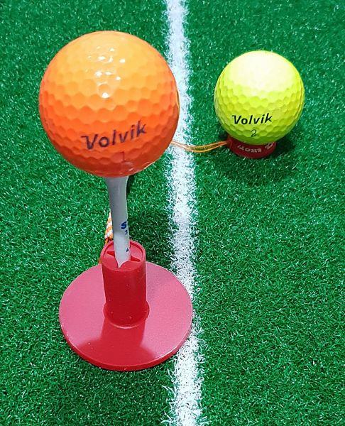 골프고무티 8개 한셋트 티포함 골프티 골프용품 골프악세사리 버디 홀인원