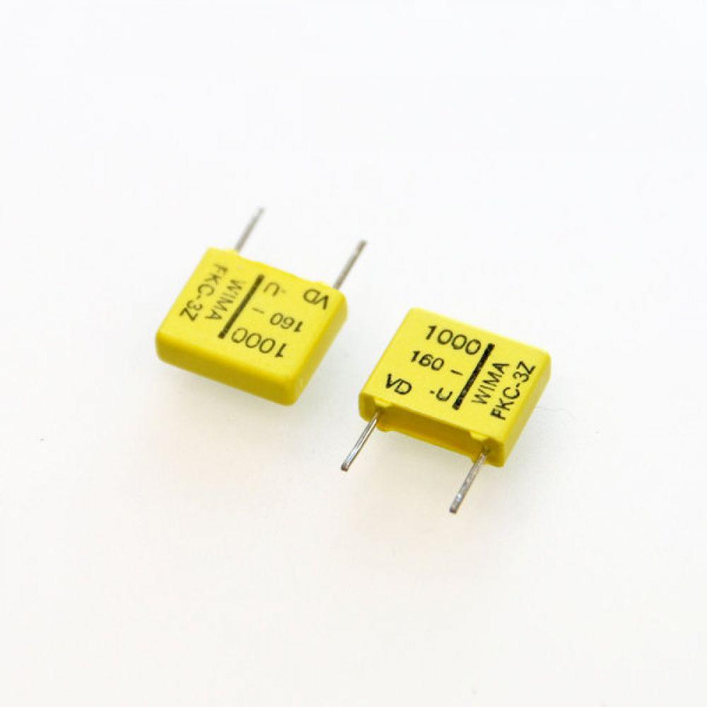 독일 위마 콘덴서 캐패시터 160V 1000pF FKC3 2개씩 5묶음 콘덴서 오디오 캐패시티 audio 위마 WIMA 독일