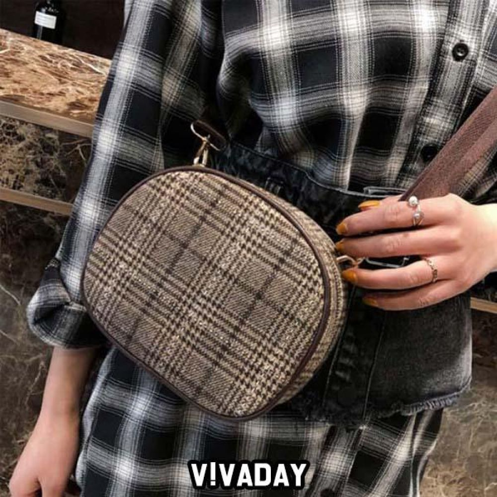 LEA-A186 체크크로스백 숄더백 토트백 핸드백 가방 여성가방 크로스백 백팩 파우치 여자가방 에코백