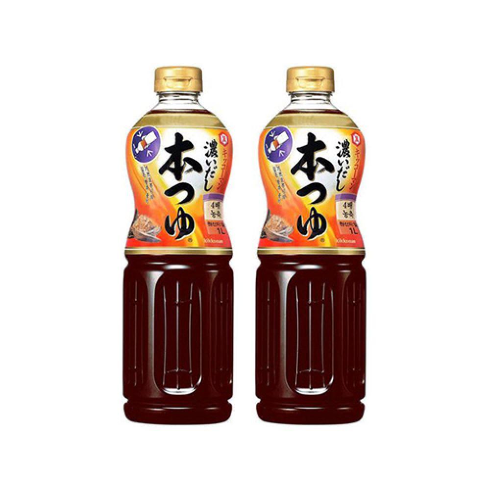 기꼬만 혼쯔유 1L 1박스 (12개입) 기꼬만소스 기꼬만혼쯔유 일본쯔유 기꼬망혼쯔유 기꼬만간장