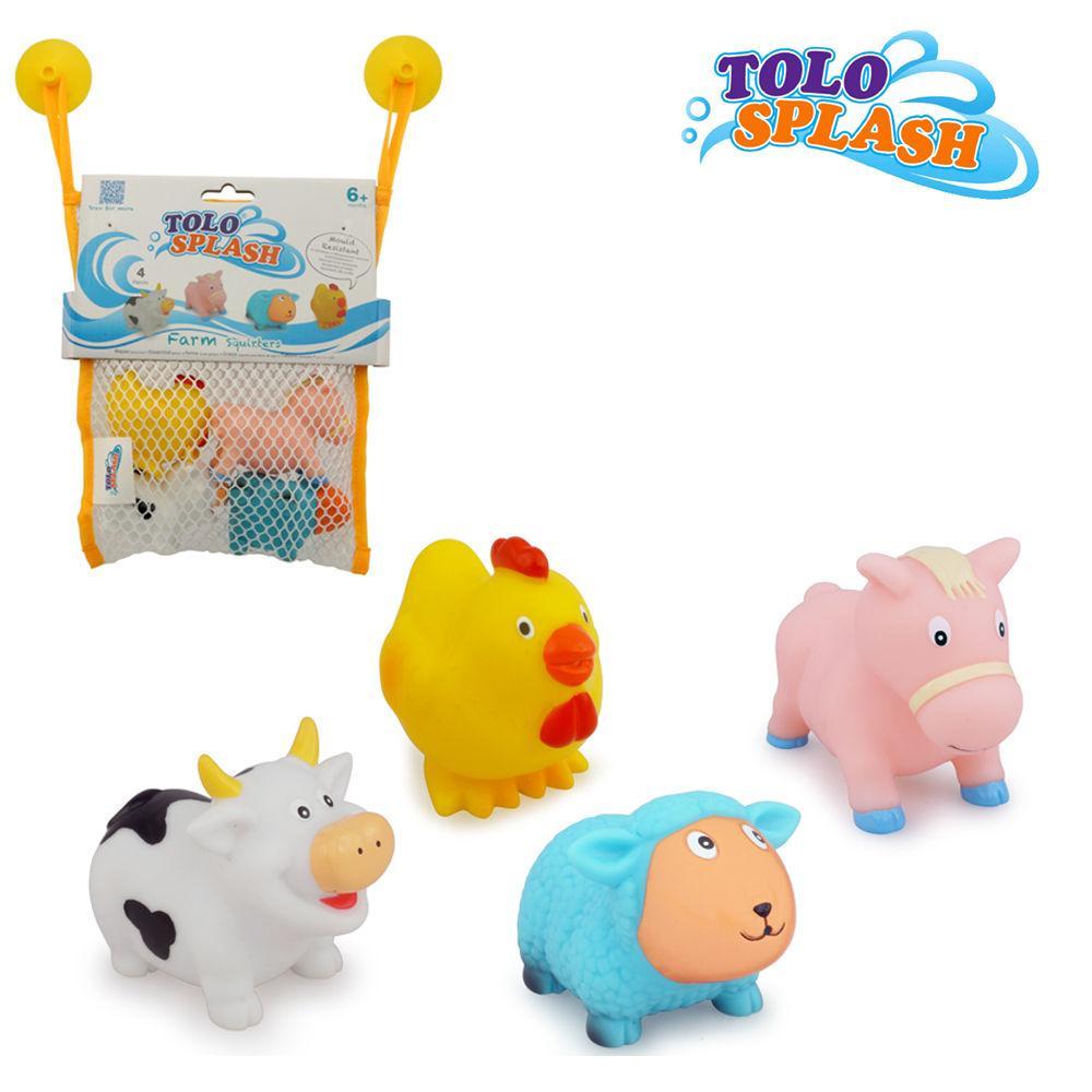 톨로(스플래시) 동물 스쿼터 (50401) 목욕완구 장난감 목욕놀이 유아완구 아기완구