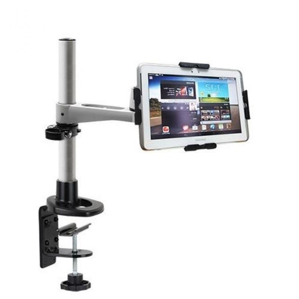 N363 LED 탁상 브라켓 태블릿 거치대세트(9-13형) 태블릿거치대 실용적 견고한스틸본체 가성비좋은 감각적인디자인 스탠드거치대 튼튼한거치대 높이조절 상하좌우 각도조절