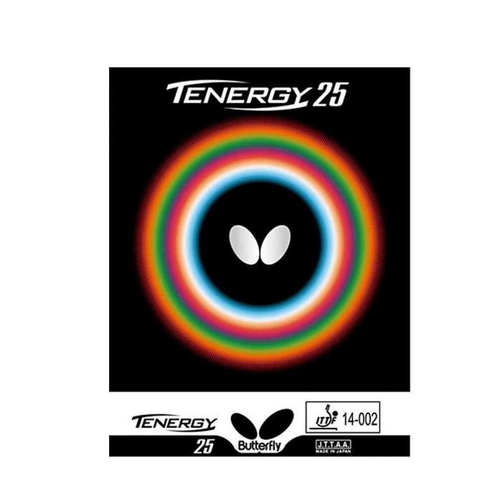 전진 공수형 버터플라이 테너지25 탁구러버 레드 스포츠용품 탁구용품 탁구라켓 탁구 탁구러버 러버