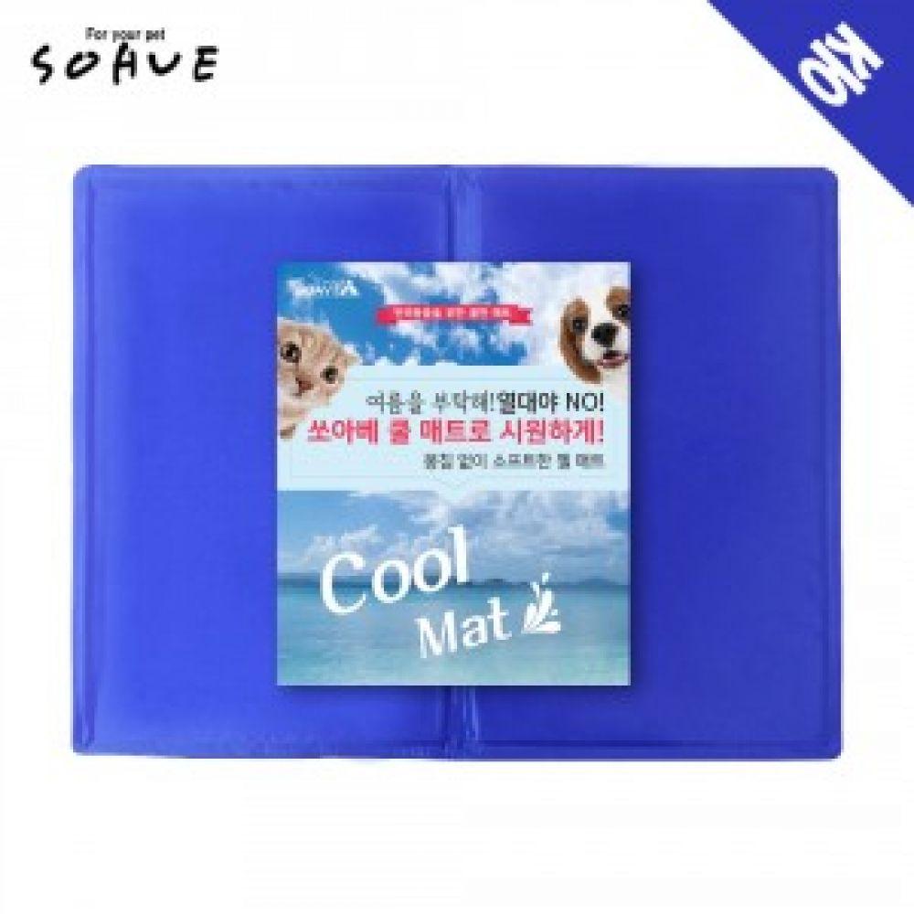 쿨 매트 40x50 중 패드 애견 얼음 시원한 여름방석 매트 고양이 푹신한매트 패드 애견