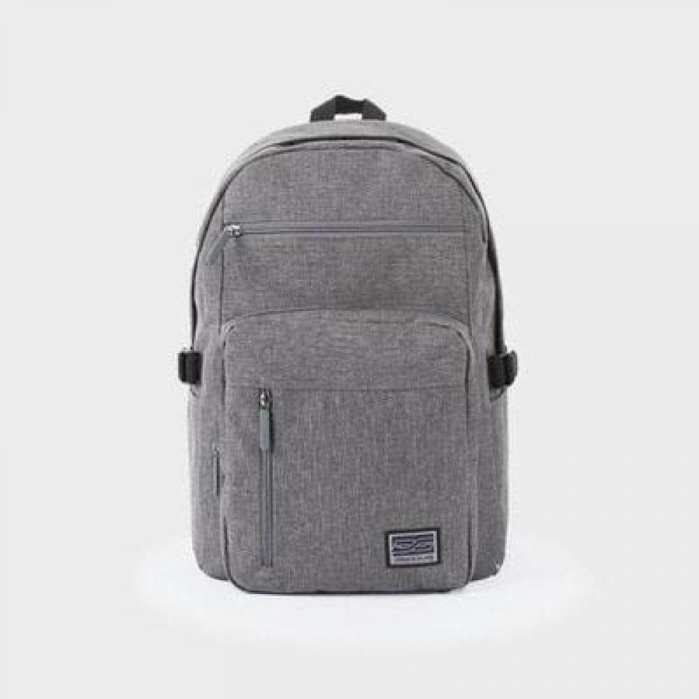 포켓지퍼 백팩 데일리가방 캐주얼백팩 디자인백팩 예쁜가방 심플한가방