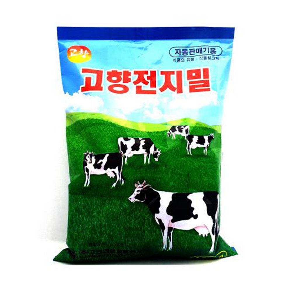 고향 전지밀 1000g 자판기용 우유 분말 전지분유 전지분유 전지유 자판기용우유 우유 분말차