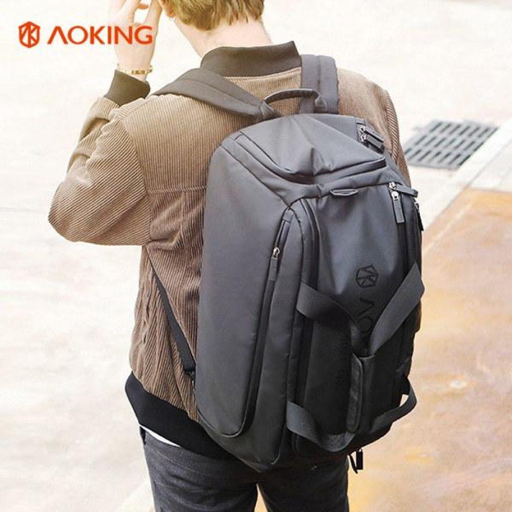 KJ_FKK002 로고 멀티 보스턴 백팩 데일리가방 캐주얼백팩 디자인백팩 예쁜가방 심플한가방