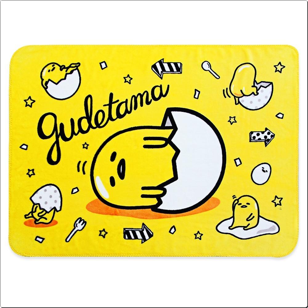 구데타마 에그팝 극세사담요 (357332) 캐릭터 캐릭터상품 생활잡화 잡화 유아용품