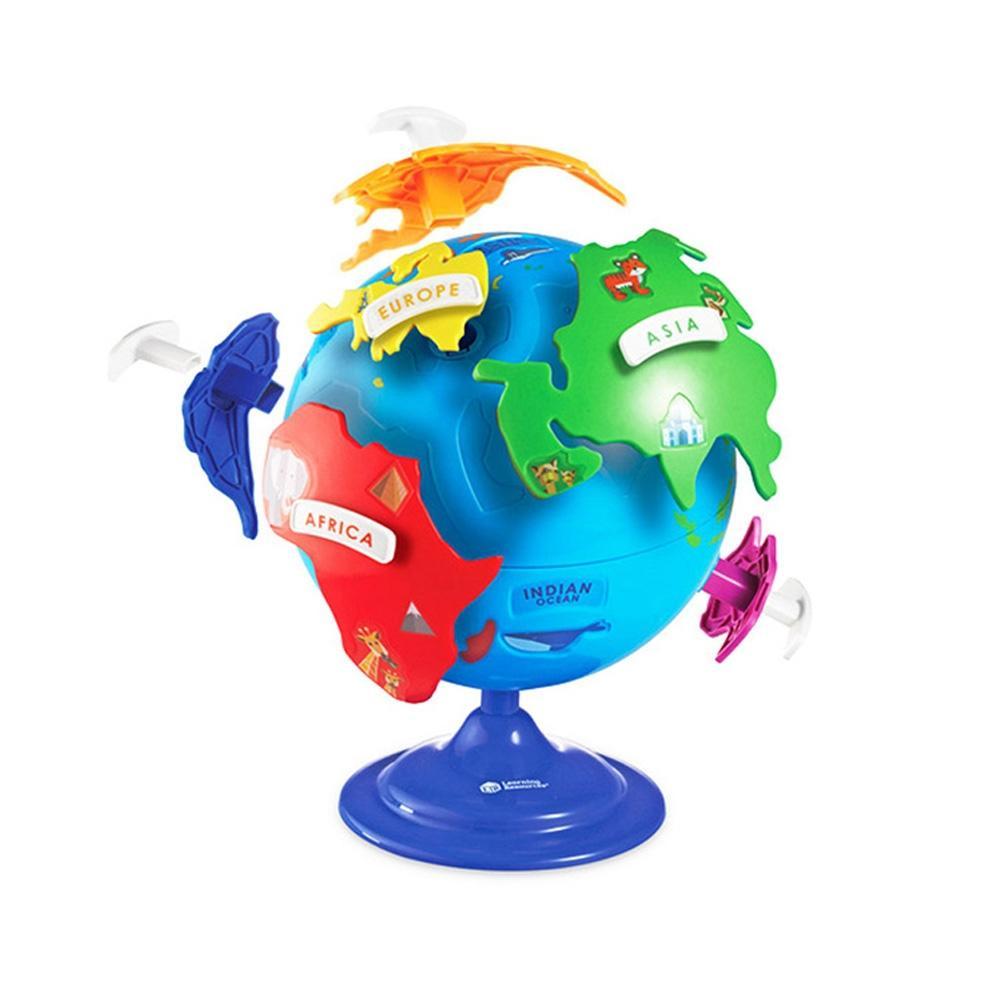 선물 어린이 아이 과학 학습 교구 퍼즐 지구본 생일 유아원 장난감 학습교구 교구 놀이교구