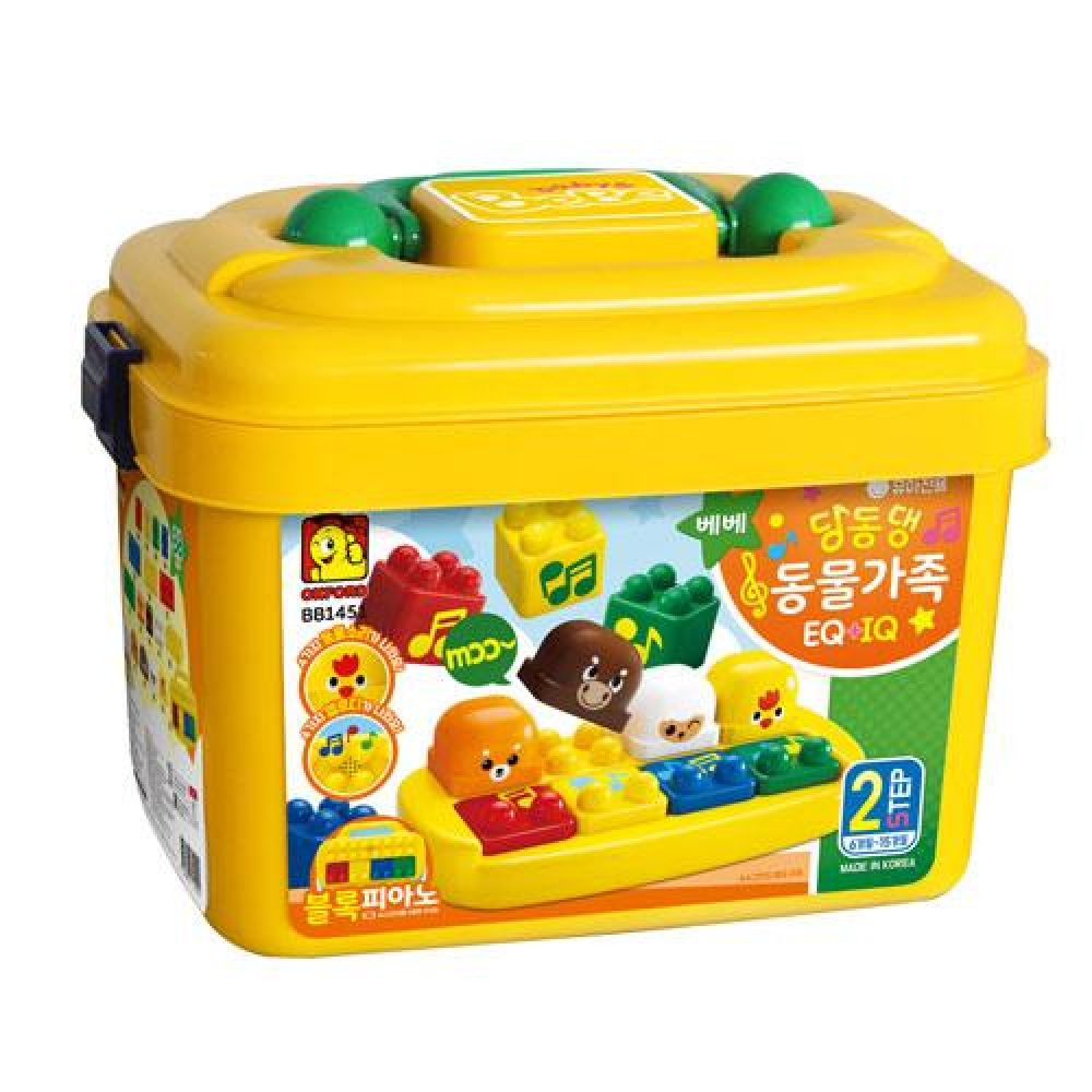 옥스포드 BB-1451 딩동댕 동물가족 장난감 완구 토이 남아 여아 유아 선물 어린이집 유치원