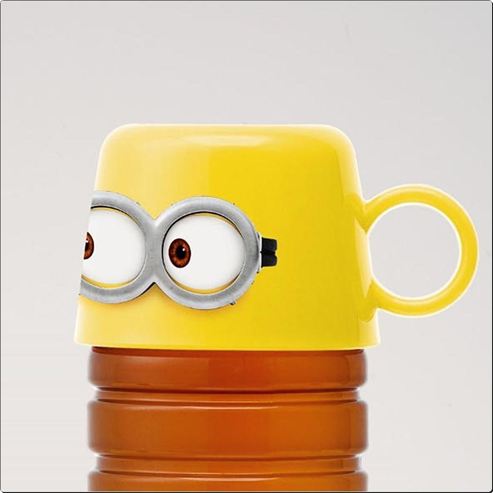 미니언즈17 페트 보틀 캡 컵 (물병캡컵)(일)(373282) 캐릭터 캐릭터상품 생활잡화 잡화 유아용품