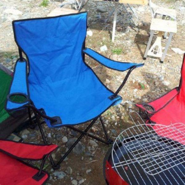 접이식 팔걸이의자 캠핑의자 컵홀더 캠핑의자 간이의자 접이식의자 컵홀더의자 휴대용의자